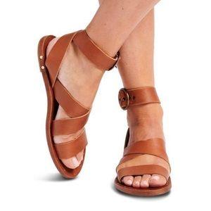 Beek Lora Sandal in Tan